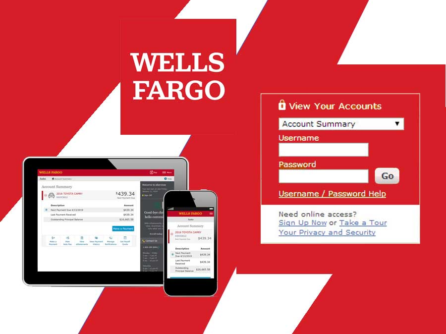 Wells Fargo Bank Login - Sign On to View Your Wells Fargo Accounts   Wells Fargo