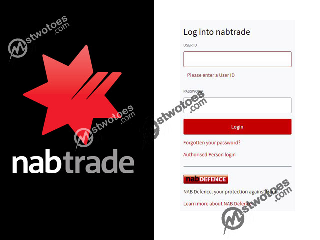 nabtrade Login - Manage your nabtrade Account   Log in to nabtrade